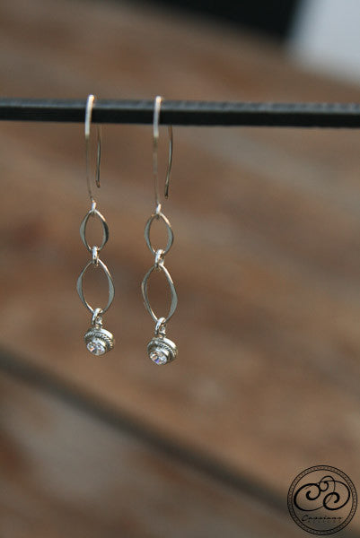 Isabella Earrings - Cassiano Designs