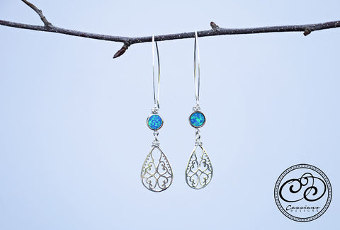 Laura Earrings - Cassiano Designs
