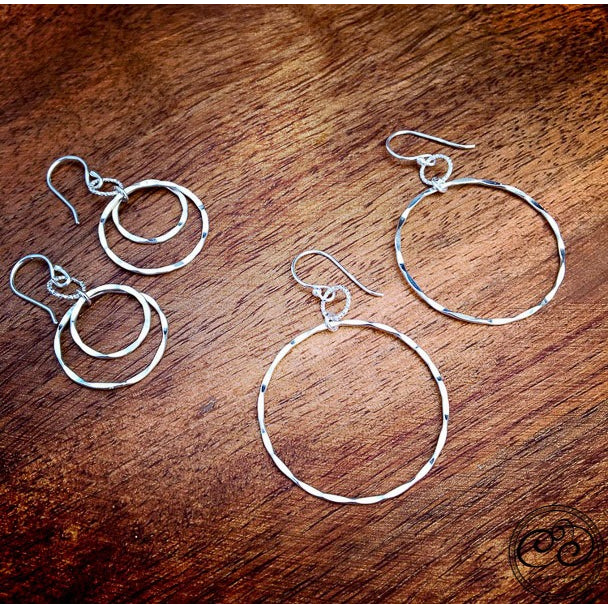 Laurel Earrings - Silver - Cassiano Designs