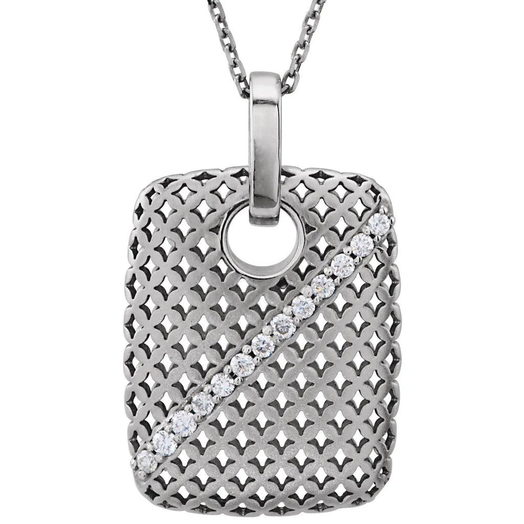 Avena Diamond Necklace