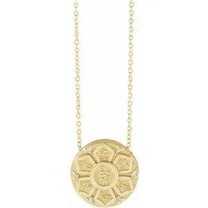 Denisse Mantra Necklace