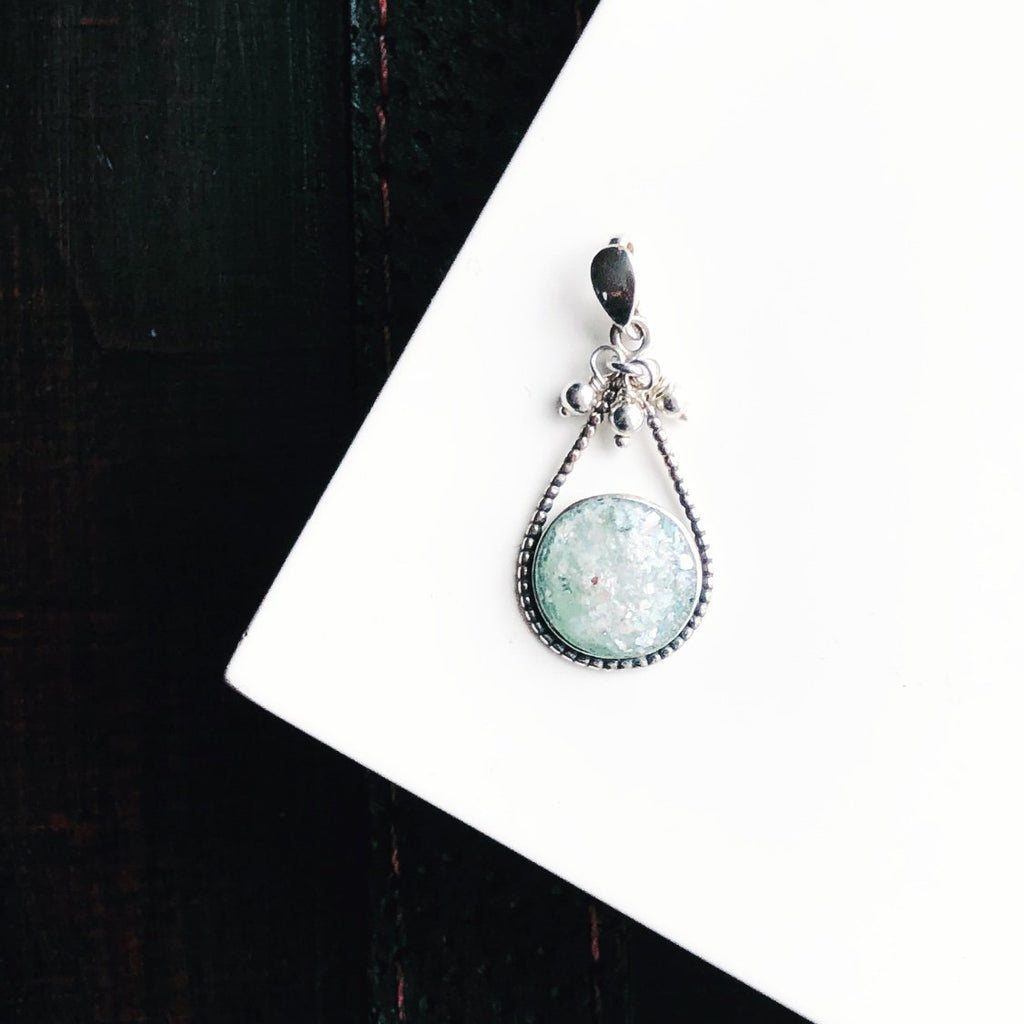 Roman Glass Charm ~ Tinori Collection