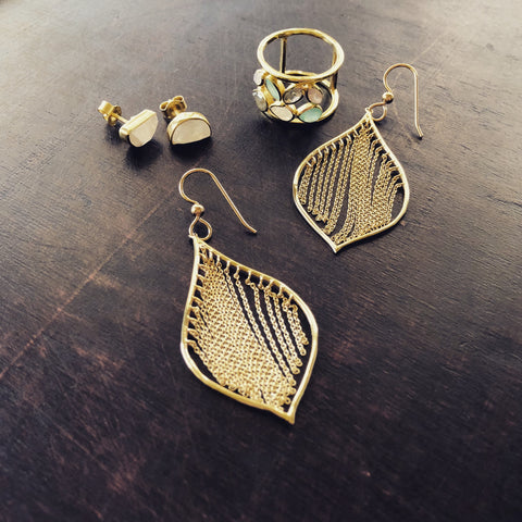 Alana Earrings - Cassiano Designs