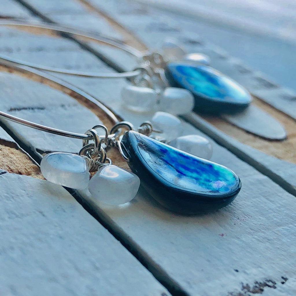 Pauba & moonstone Earrings
