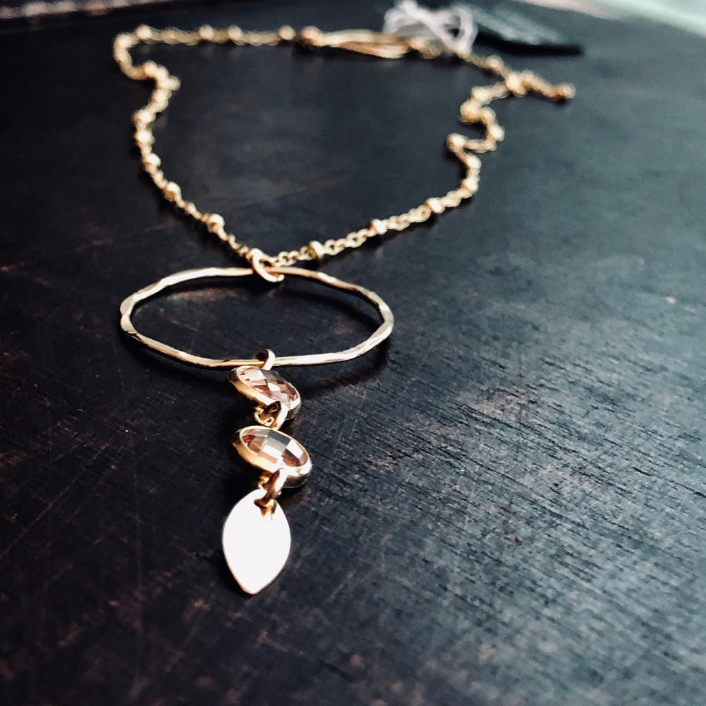 Champagne Gold Necklace