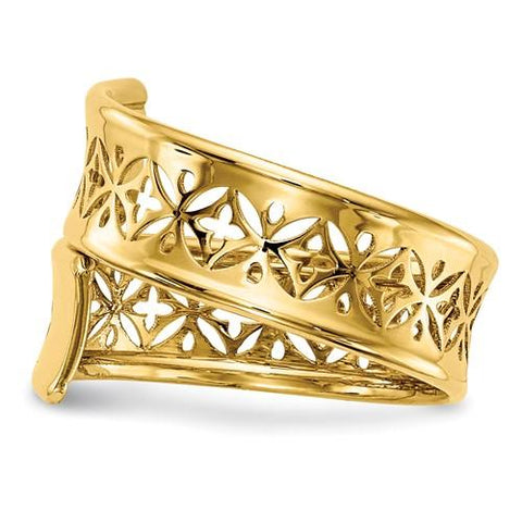 Kayla Gold Wrap Ring