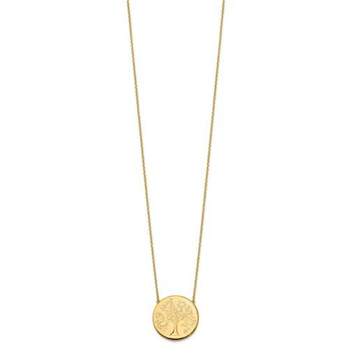Liselle Tree of Life 14k Gold Necklace