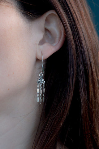 Lila Earrings - Cassiano Designs
