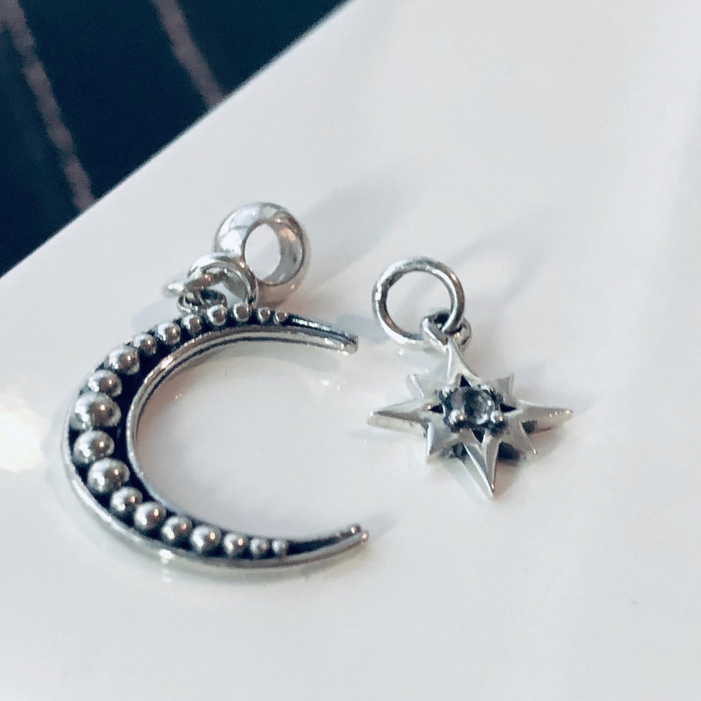 Crescent Moon Charm Set ~ Tinori Collection