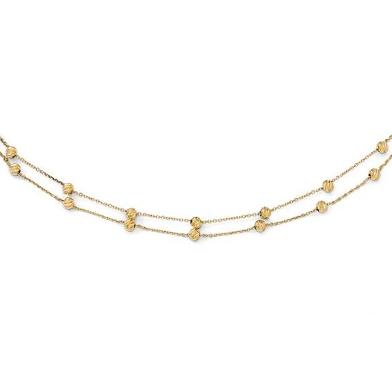 Nicole 14k Gold Necklace