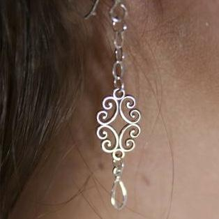 Bella Rose Earrings - Cassiano Designs