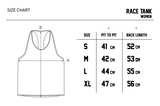 Small Logo - Race Tank (Female)