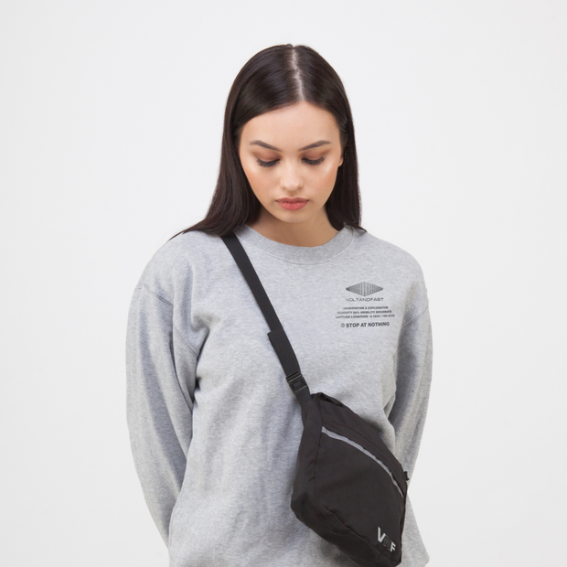 Stop at Nothing Crewneck - Grey