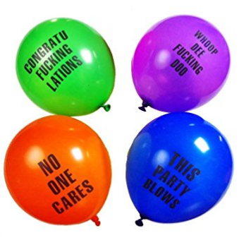 Shitty Balloons for Any Party 24 Pack