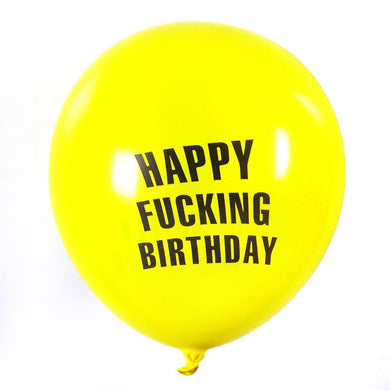Happy Fucking Birthday - 12 Pack