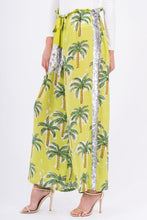 117. The Palm Tree Drawstring Pant