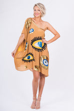 103. The Tan Evil Eye Kaftan