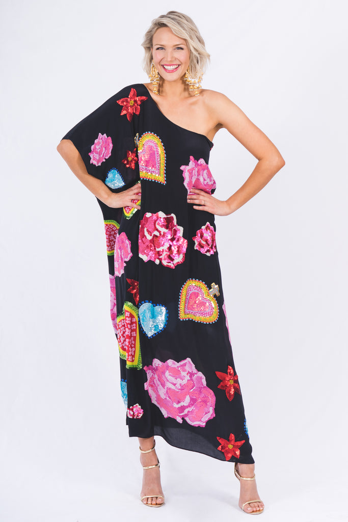 The Sacred Rose Kaftan