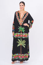 106. The Black Palm Springs Kaftan