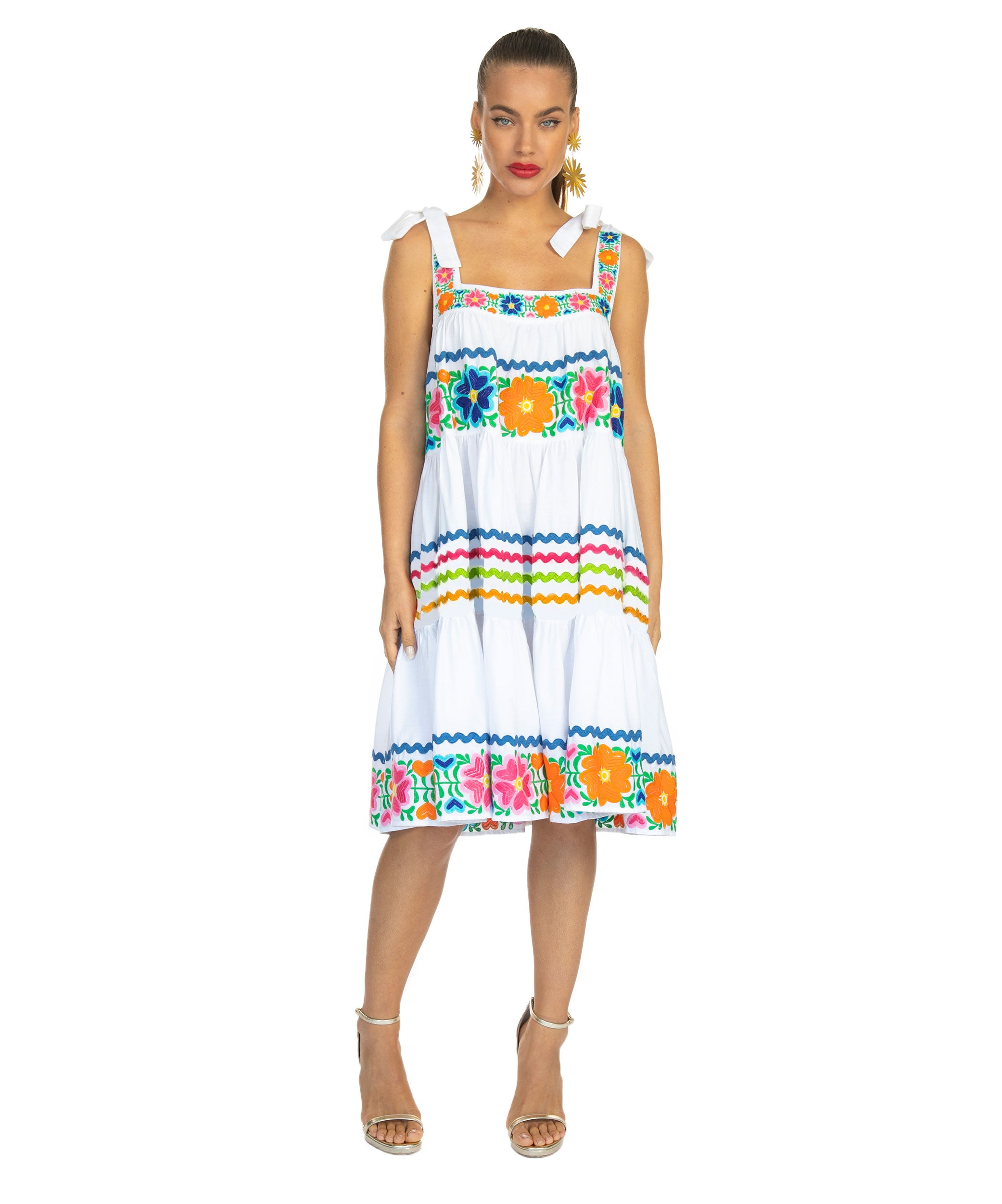 The Obispo Swing Dress by Bonita Collective