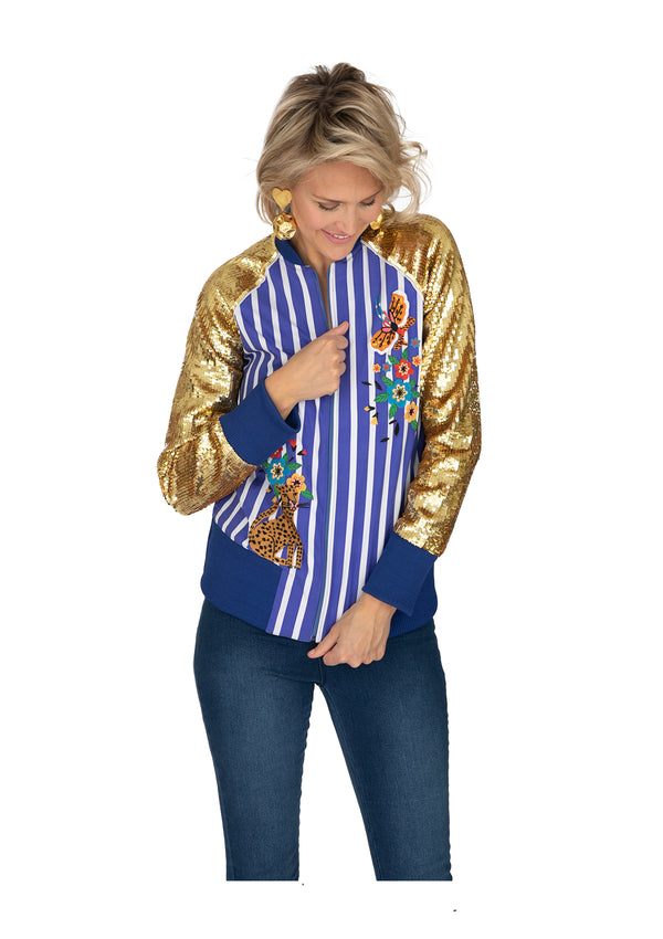 The Bonita Bomber Jacket by Bonita Collective