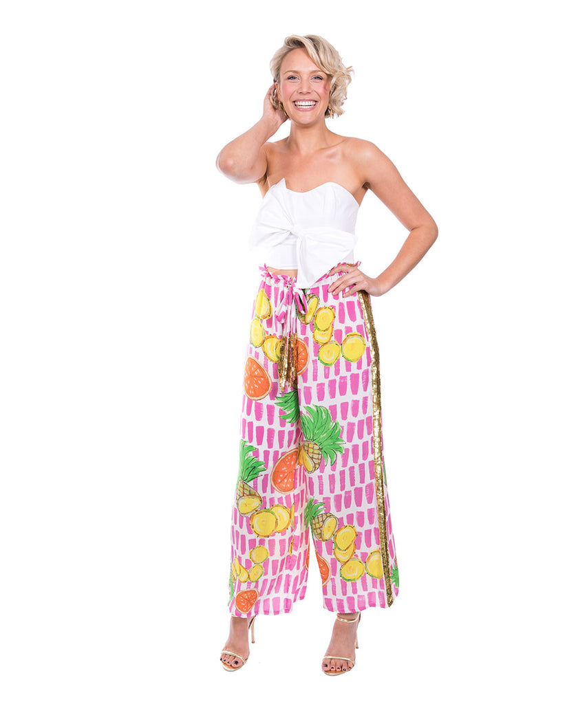 The Fruit Cart Drawstring Pant by Bonita Kaftans