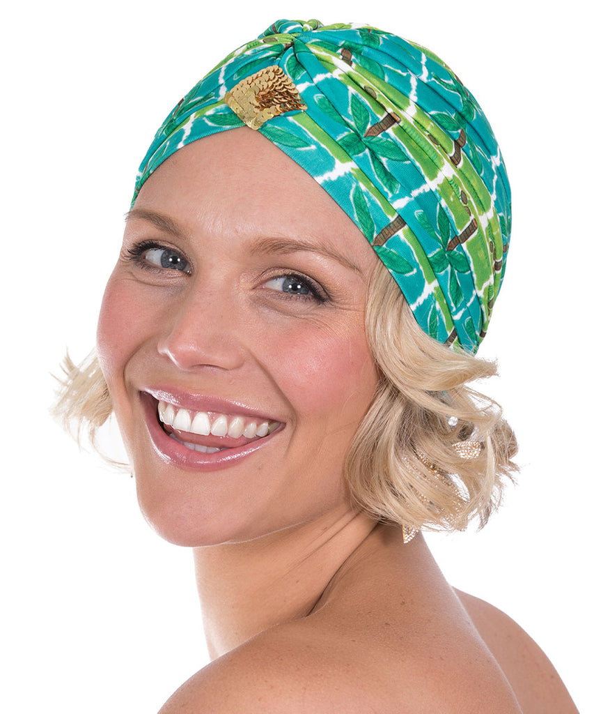 The Green Palm Turban