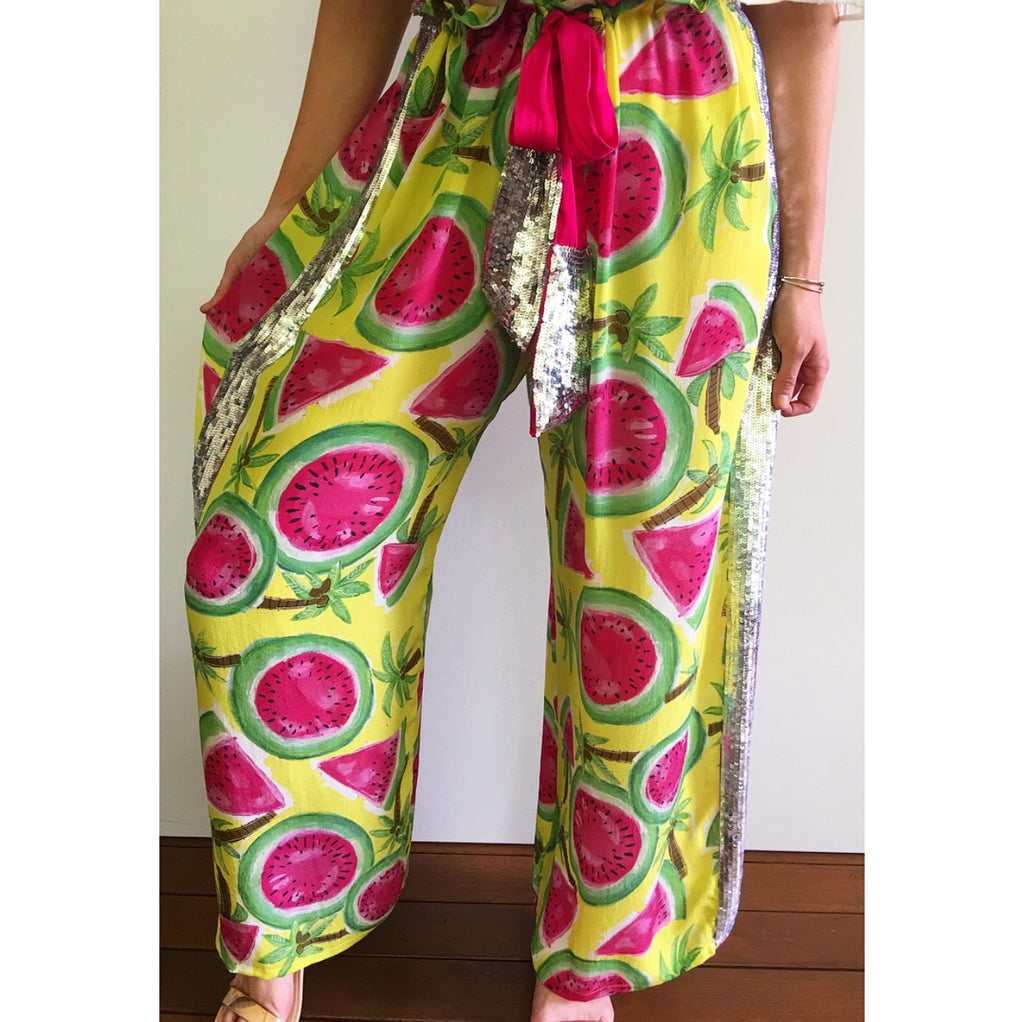 The Watermelon Drawstring Pant