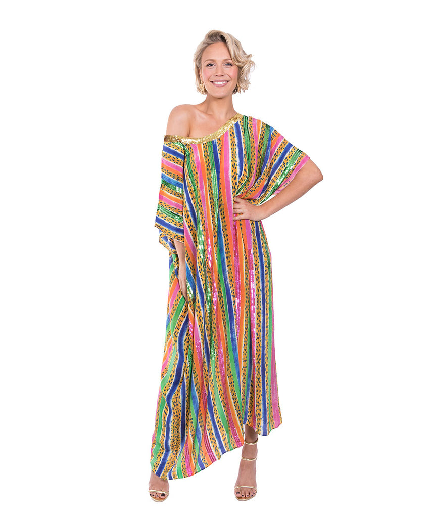 The Jungle Jazz Kaftan