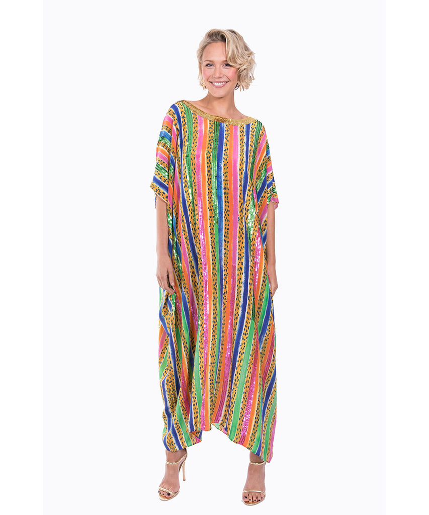 The Jungle Jazz Kaftan by Bonita Kaftans