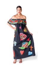 111. The Black Off The Shoulder Sacred Heart's Dress