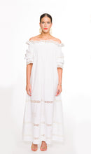 116. The White Summer's Night Off The Shoulder Dress