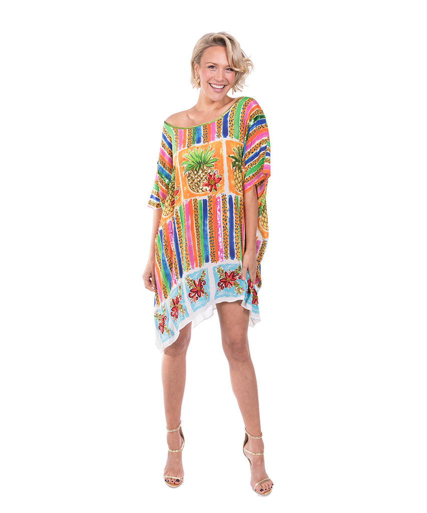 The Maui Kaftan (Short) by Bonita Kaftans
