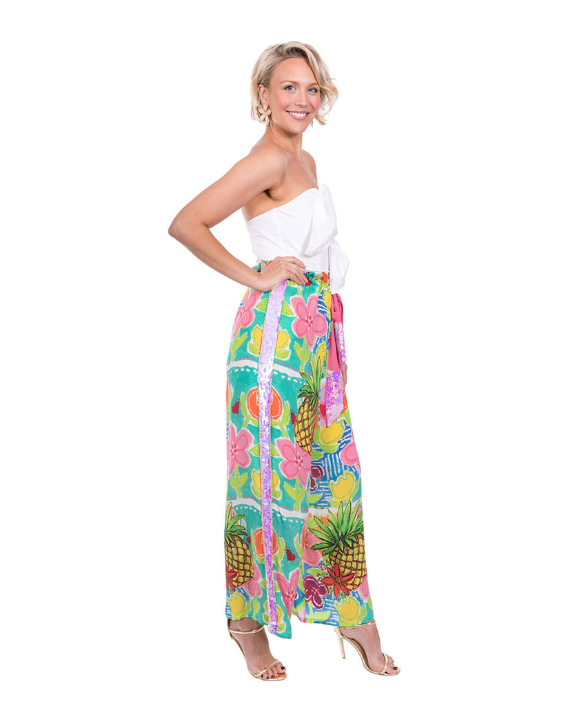The Monet's Dream Drawstring Pant by Bonita Kaftans