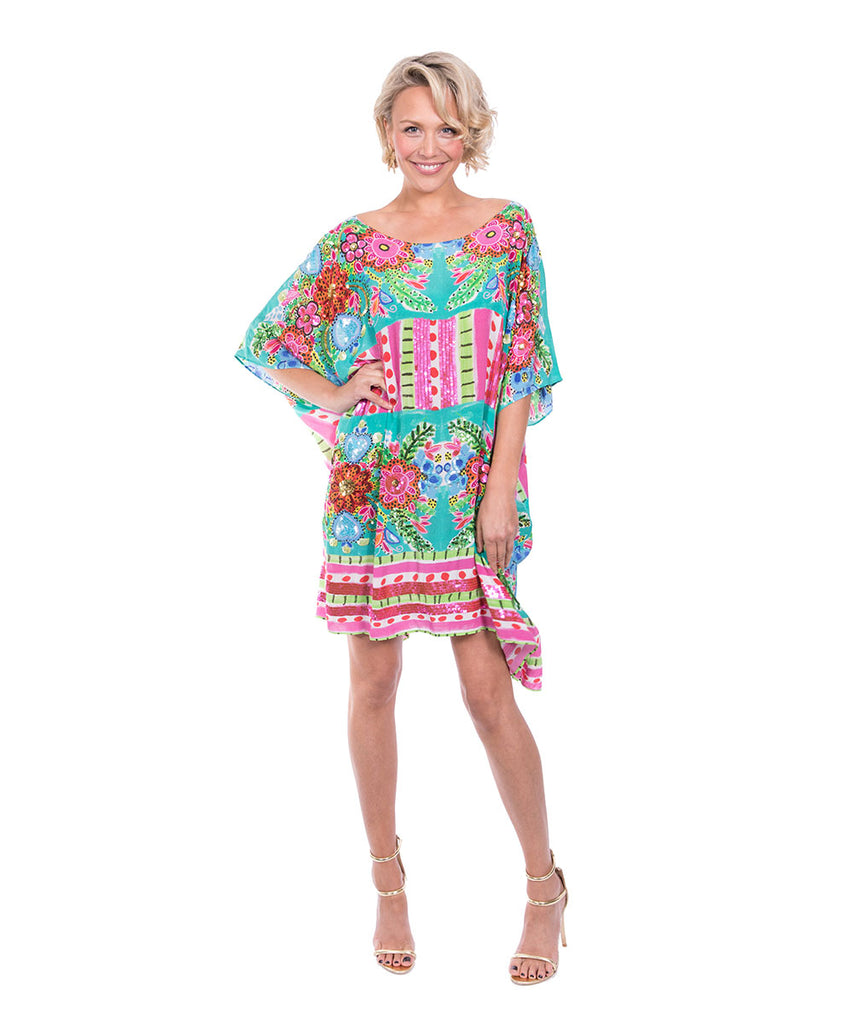 The Mairette Kaftan (Short) by Bonita Kaftans