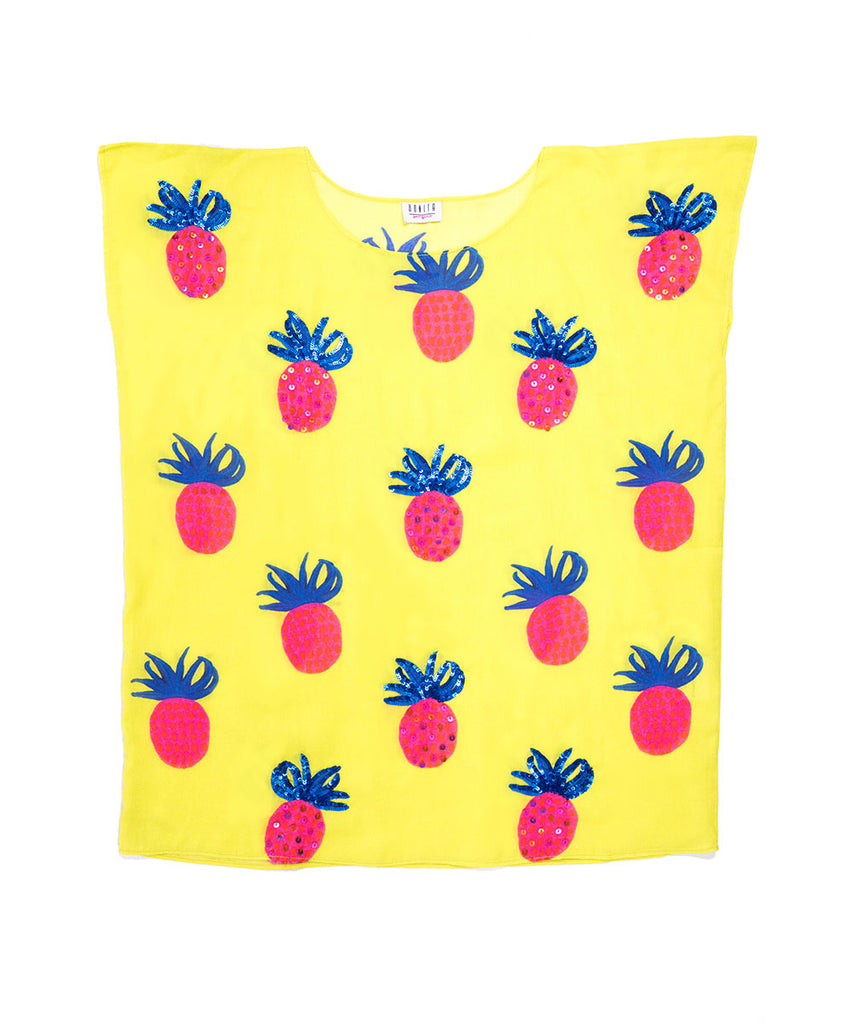 The Magic Pineapple Kaftan by Bonita Bambino