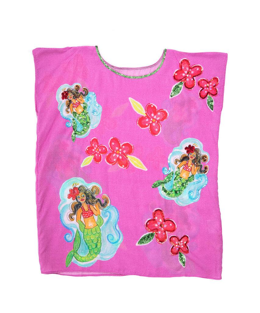 The Mermaid Princess Kaftan by Bonita Bambino