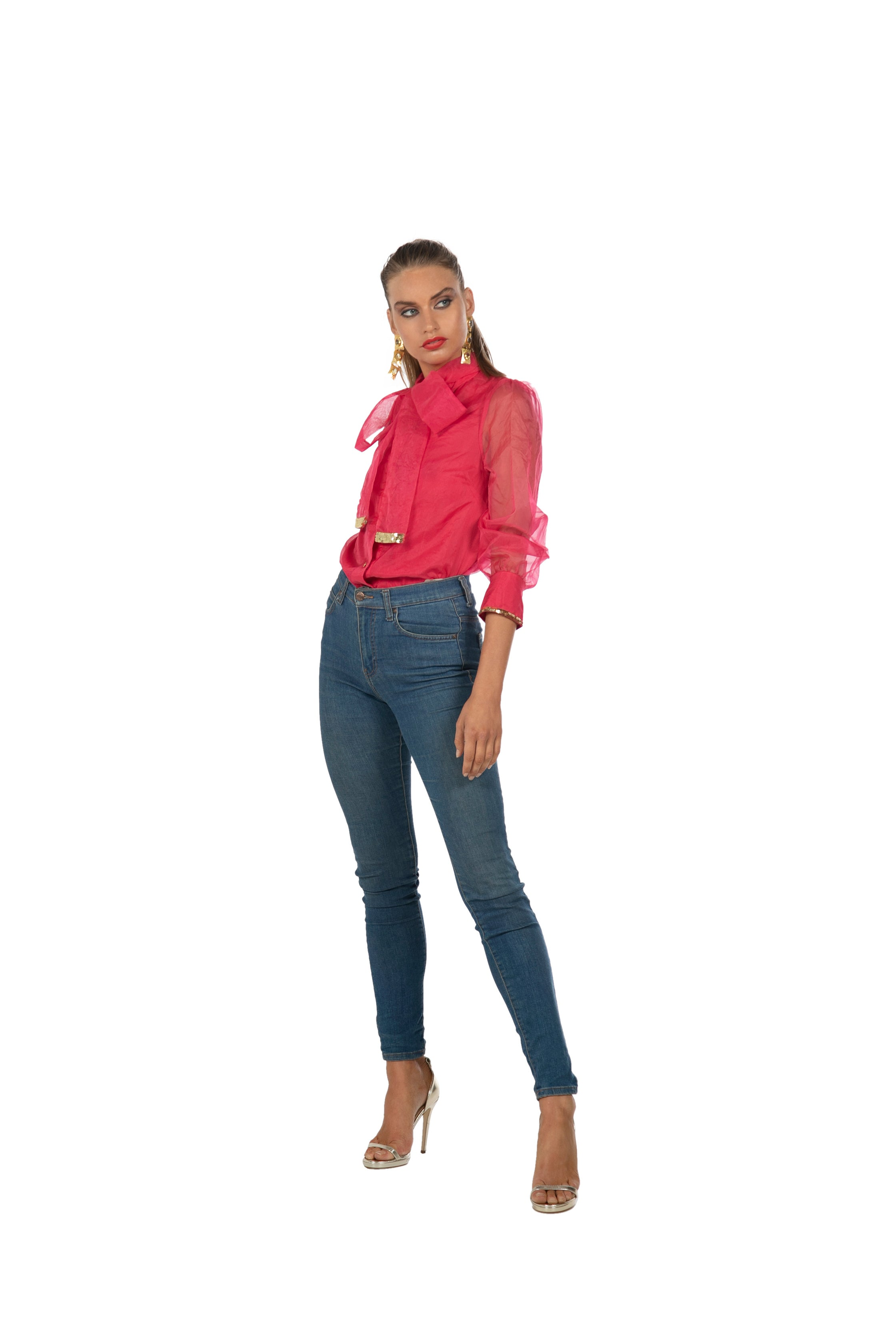 Pink Bow Blouse by Bonita Collective