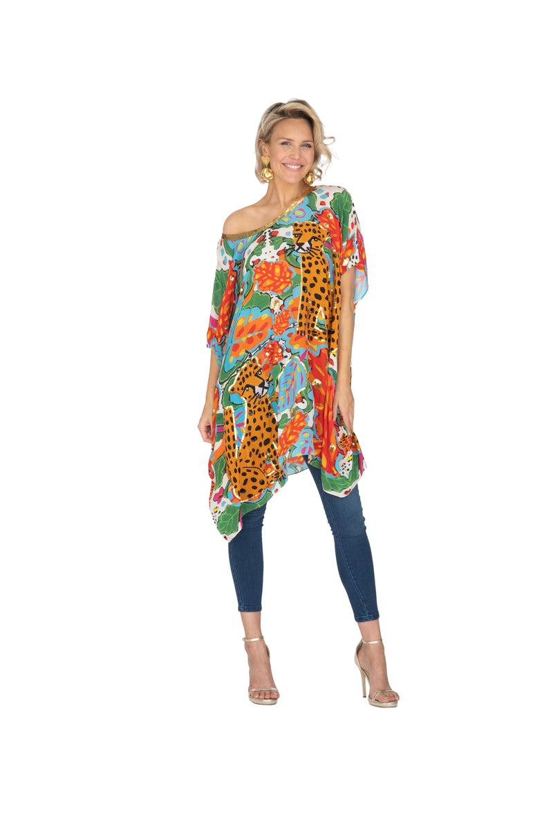 Portrait of a Kaftan Short by Bonita Collective