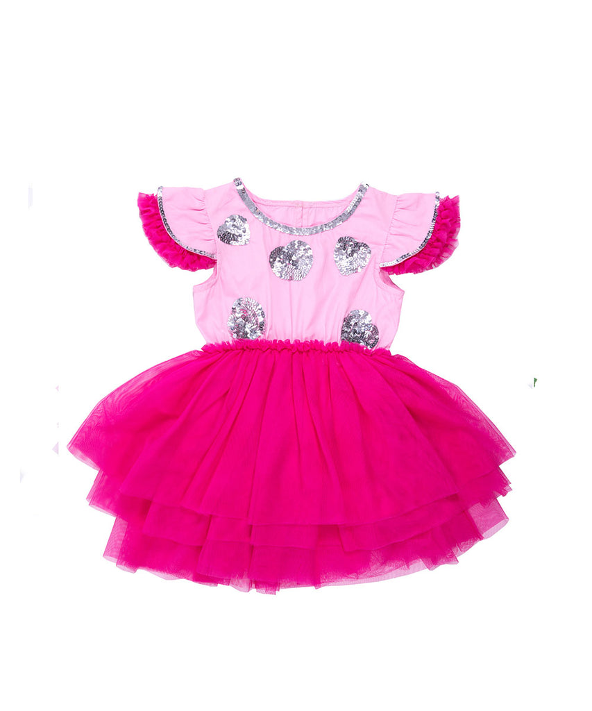 The Fairy Pink One Piece Tutu Dress by Bonita Bambino