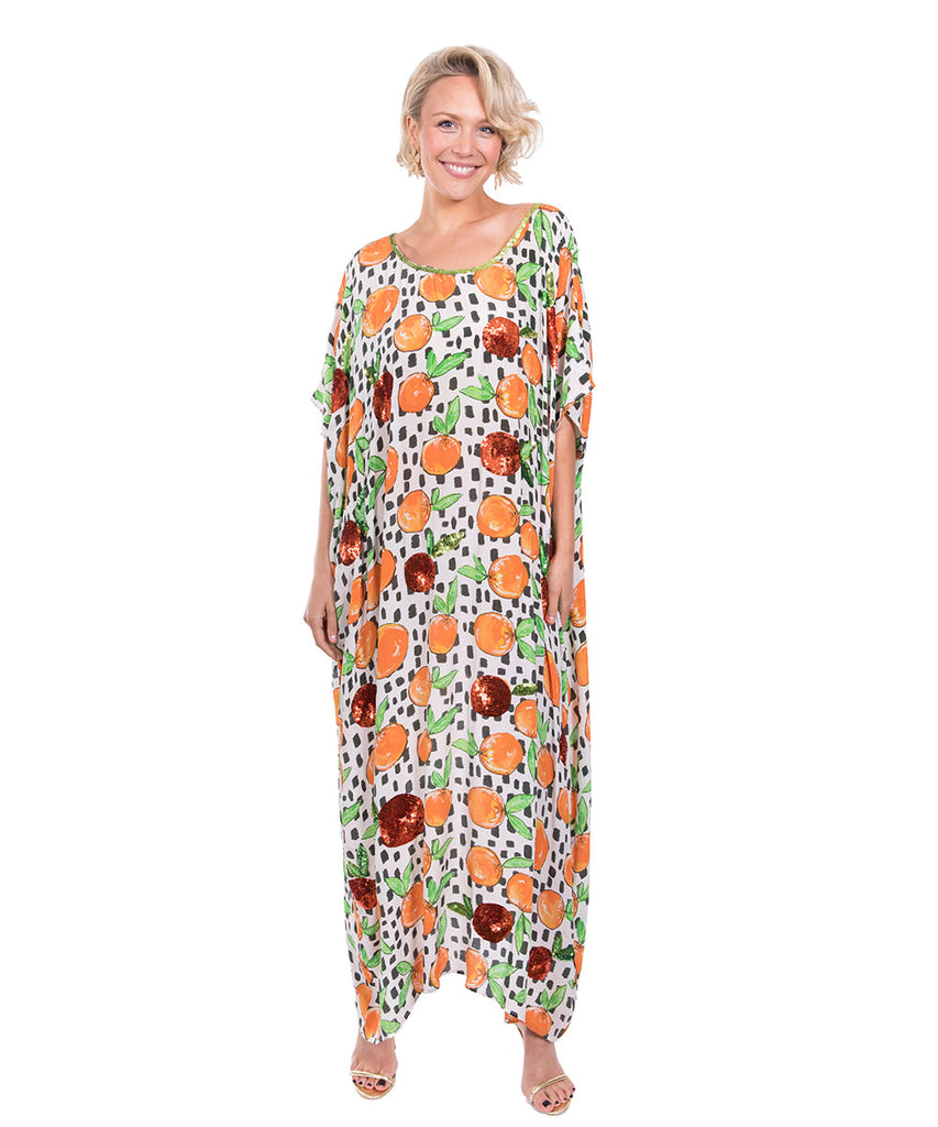 The Sorrento Kaftan (Long) by Bonita Kaftans