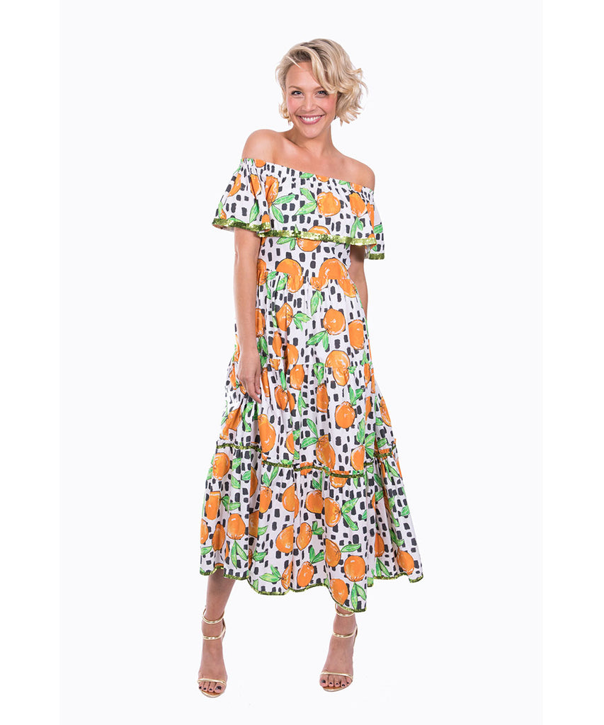 The Sorrento OTS Dress by Bonita Kaftans