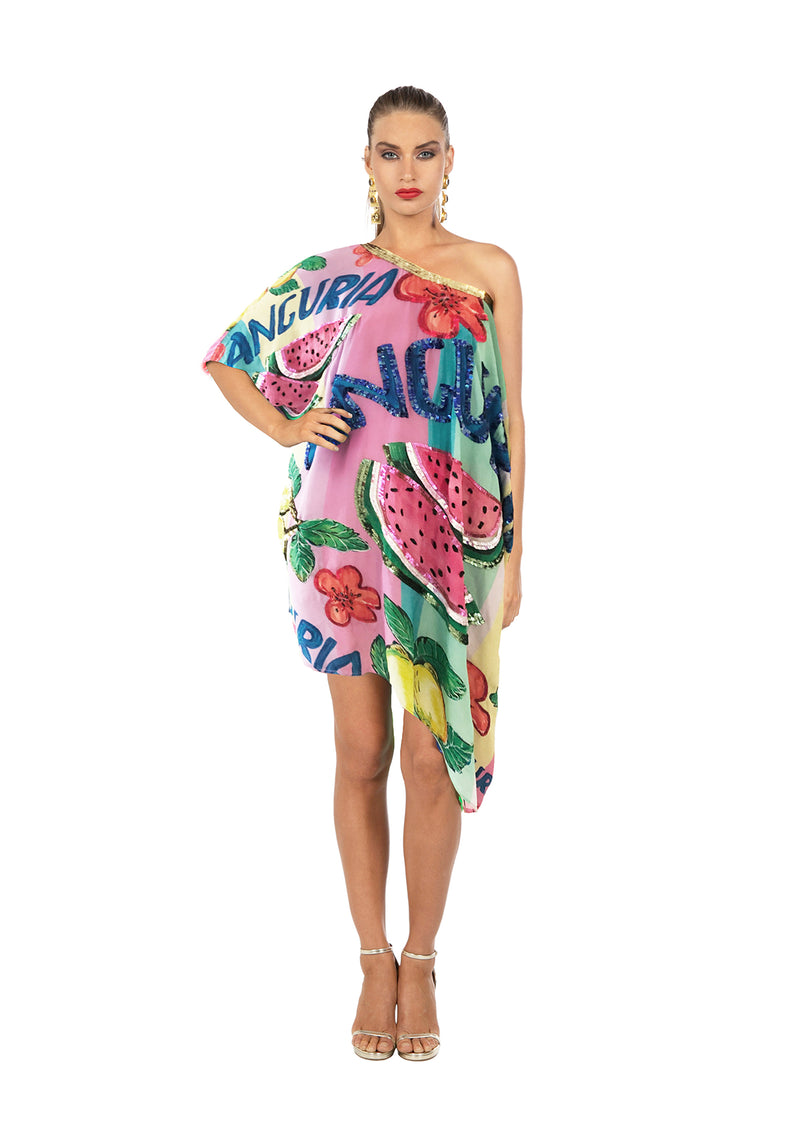 The Anguria Kaftan Short by Bonita Collective