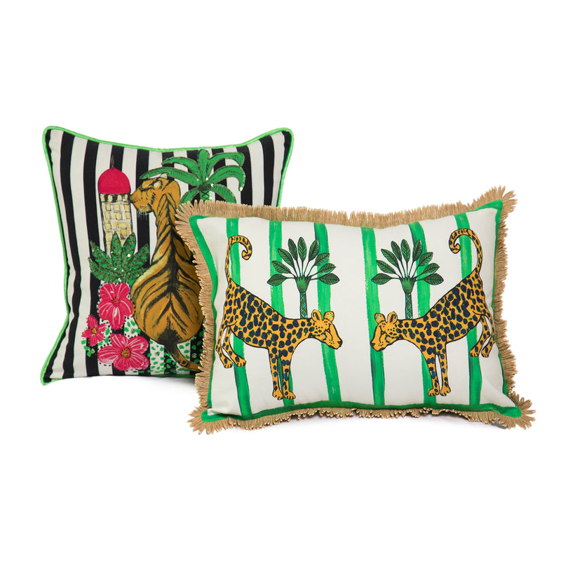 The Bengal Tiger Cushion by Bonita Home / Bonita Collective