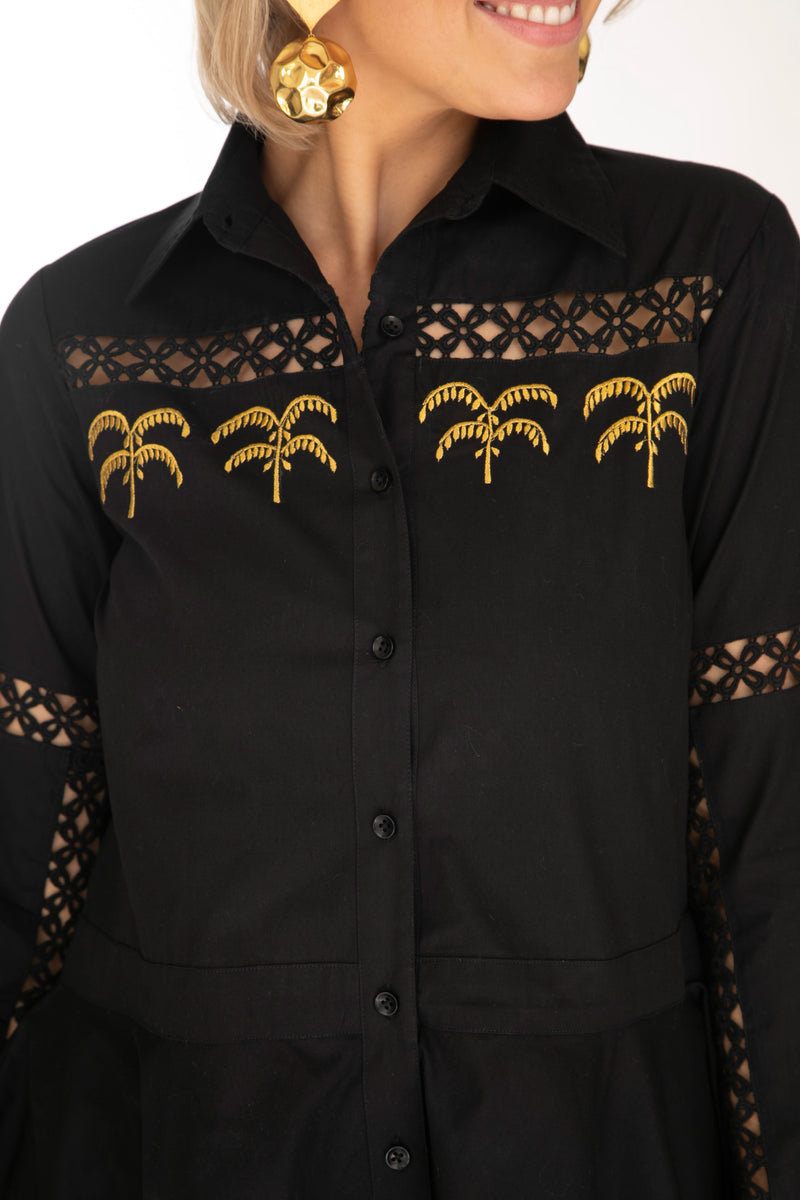 The Black Palm Shirt by Bonita Collective