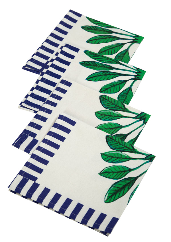 The Calabria Napkin Set by Bonita Collective / Bonita Home