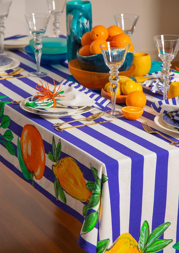 The Calabria Tablecloth by Bonita Home / Bonita Collective