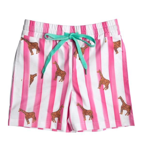 The Captain Giraffe Boardshorts by Bonita Bambino