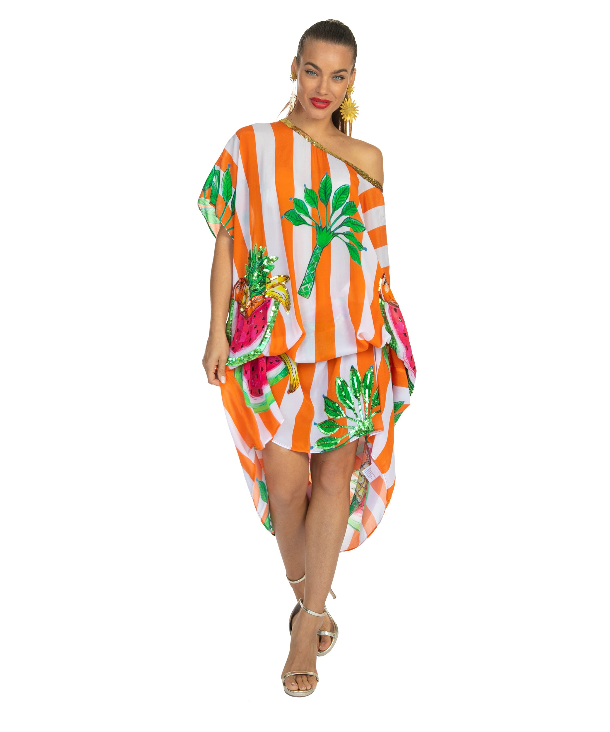 The Carmen Miranda Kaftan by Bonita Collective