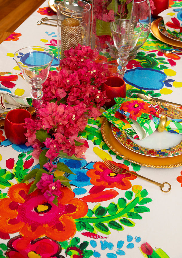 The Full Bloom Tablecloth by Bonita Home / Bonita Collective